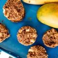 Wegańskie bezglutenowe jabłkowe muffiny