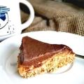 Wegańska semi surowa szarlotka ze śliwkową czekoladą